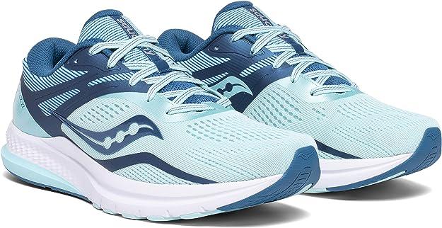 Saucony Jazz 22 Blue/Aqua, Zapatillas de Atletismo para Mujer: Amazon.es: Zapatos y complementos