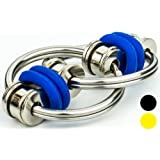 Flip-it! Bike Chain Fidget Toy - Reduce Anxiety/Stress/ADHD - Increase Focus/Concentration/Productivity, by FidgetDoctor