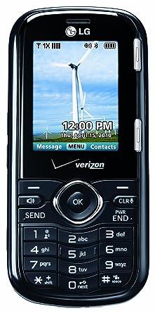 amazon com lg cosmos black verizon wireless cell phones rh amazon com Verizon Wireless My Account Verizon Wireless Logo