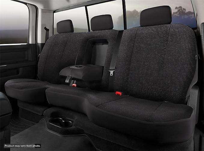 FIA TR42-65 Gray Custom Fit Cover Rear Split Seat 40//60-Saddle Blanket