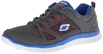 Flex Appeal Adaptable, Damen Sneakers, Blau (NVGR), 36 EU Skechers