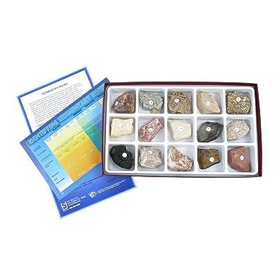 American Educational 15 Piece Sedimentary Rock Collection: Industrial & Scientific