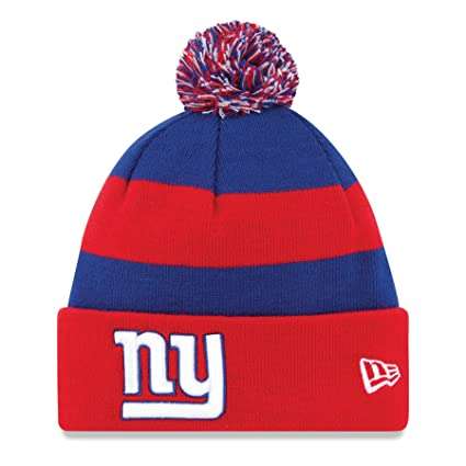Image Unavailable. Image not available for. Color  New York Giants New Era  On Field Sport Knit Hat 45a09432fab7