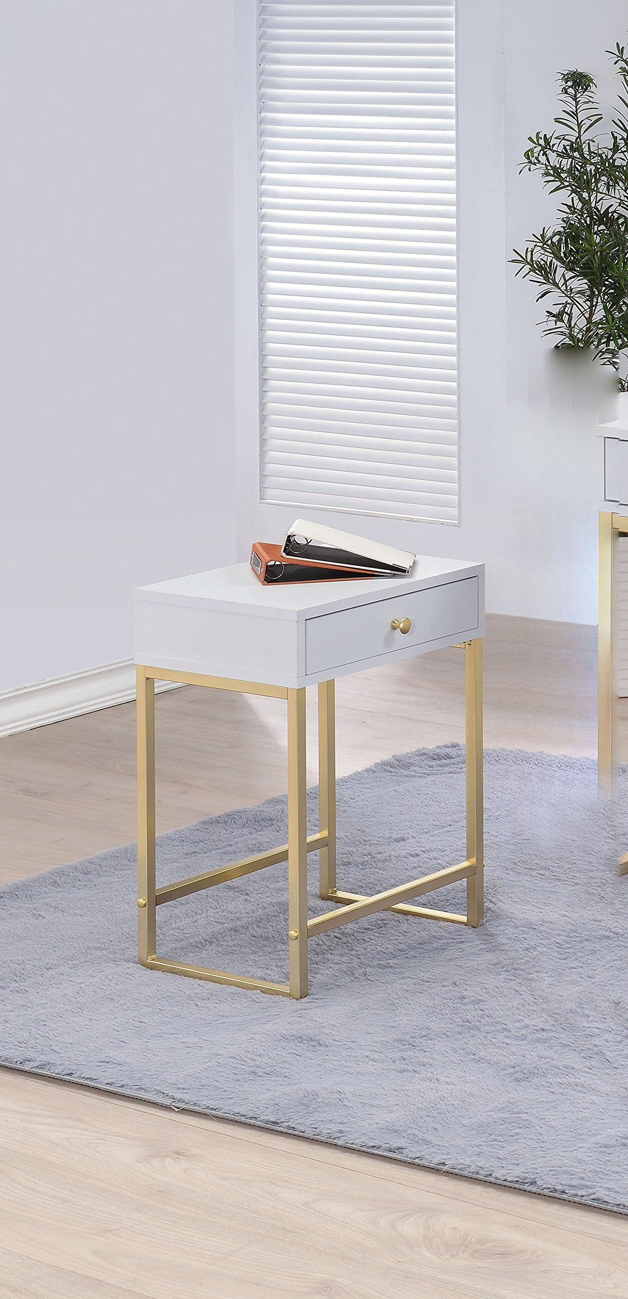 HomeRoots Furniture 286068-OT Homeroots Tables, Multicolor