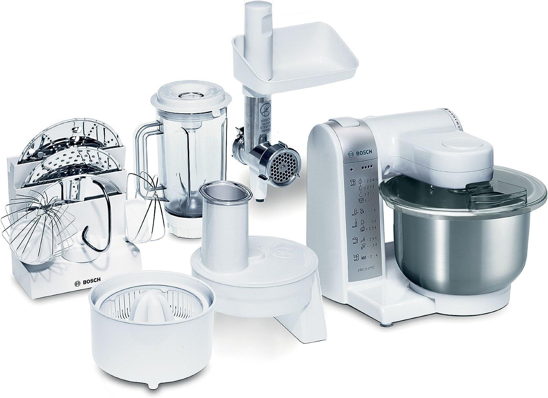 Bosch MUM4780 - Robot de cocina (bol de acero inoxidable, 600 W ...