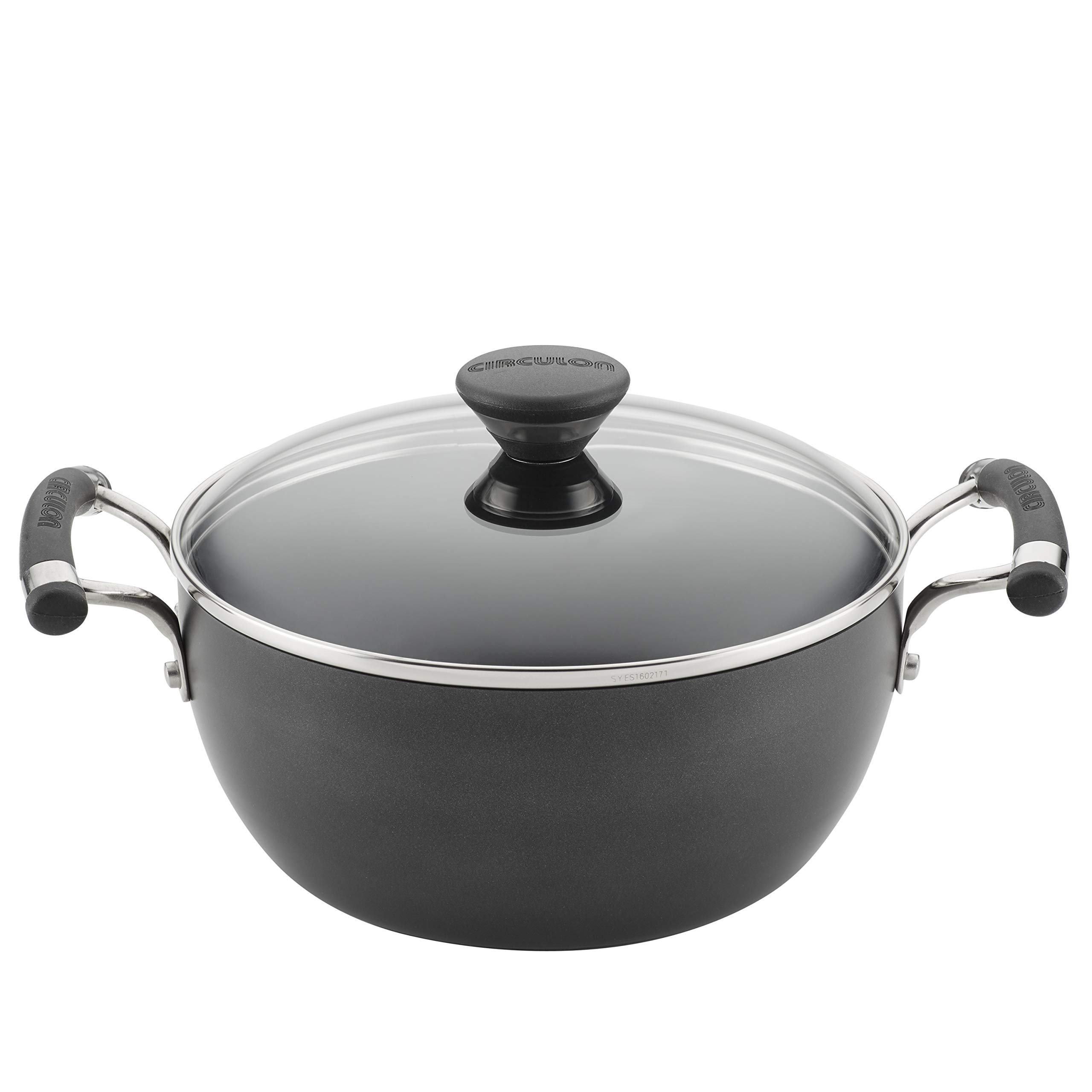 Circulon Acclaim Hard-Anodized Nonstick 4.5-Quart Covered Casserole by Circulon (Image #1)