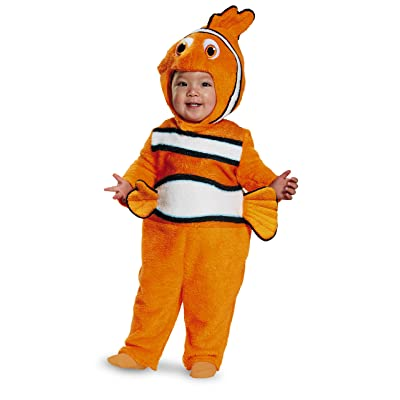 Disney Disguise Baby's Nemo Prestige Infant Costume, Orange, 6-12 Months: Clothing
