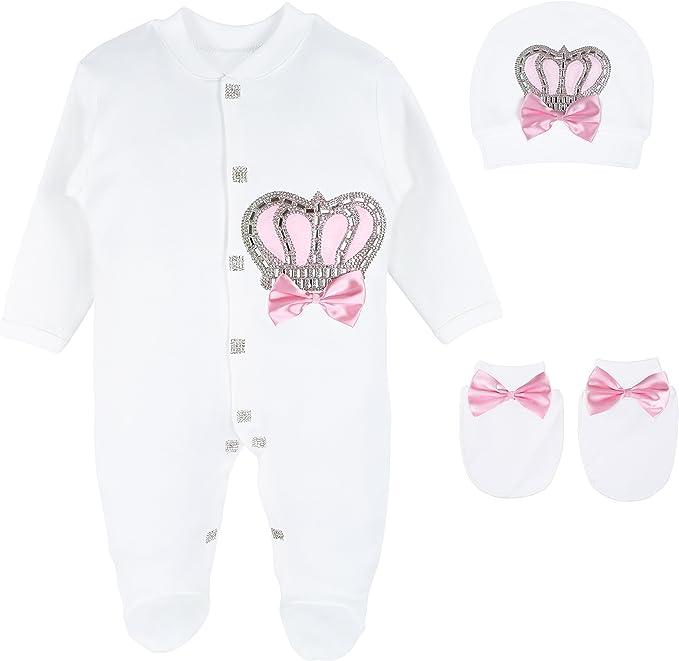 Amazon.com: Lilax - Juego de 3 joyas para recién nacido ...