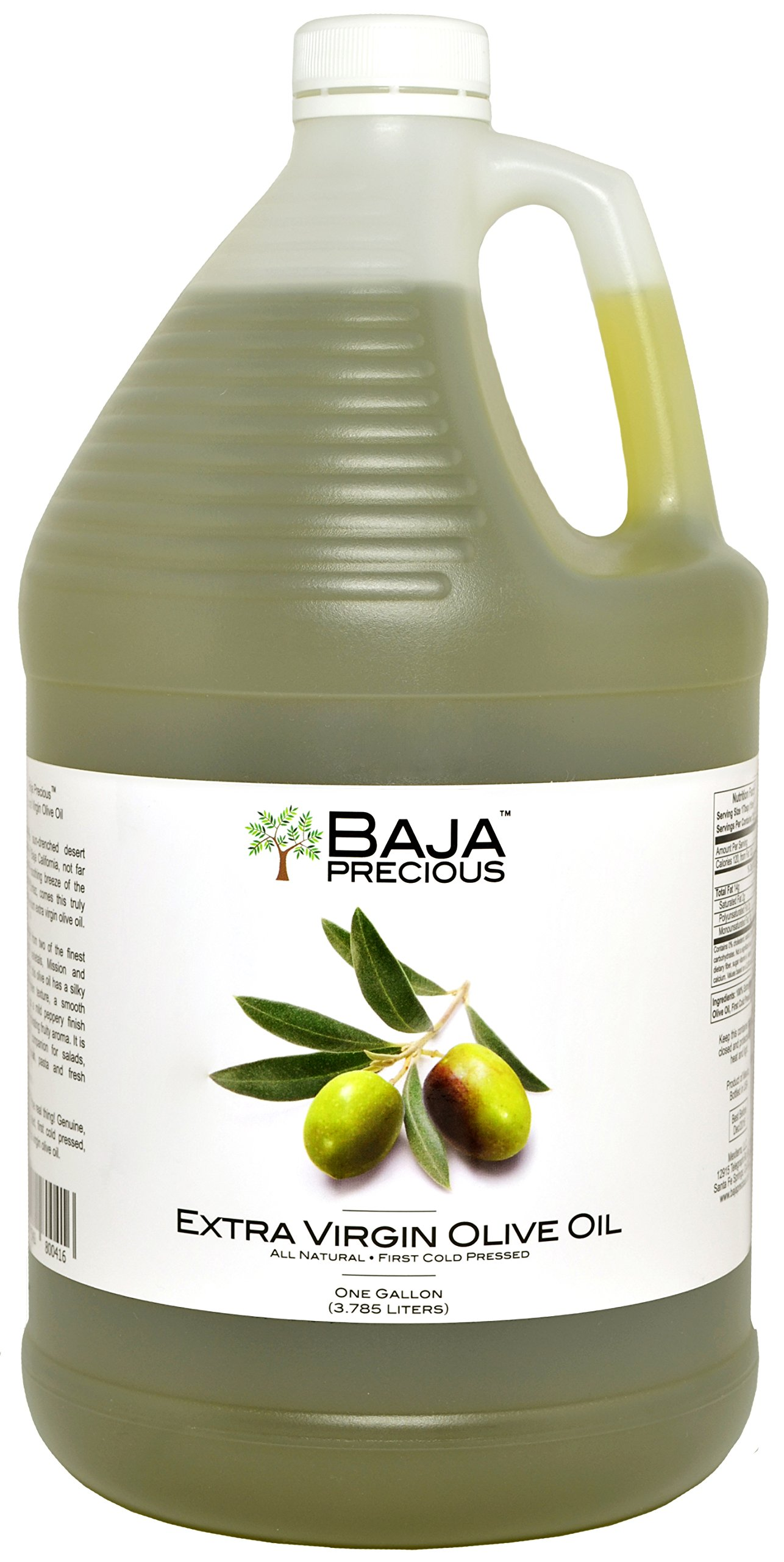 Baja Precious - Extra Virgin Olive Oil, 1 Gallon by Baja Precious