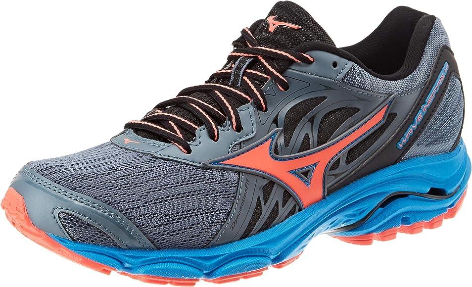 Mizuno Wave Inspire 14, Zapatillas de Running para Mujer, Azul ...