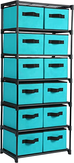 """18/"""" doll storage container school supply organizer shelf drawer NEW choose color"""