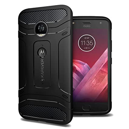 87d06b85d Kapaver Moto Z2 Play Back Cover Case Premium Tough  Amazon.in  Electronics
