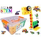 Creative Builder Set - 92 Pieces Building Blocks Toys for Boys and Girls from koolsupply. For 3, 4 and 5+ Year Old Boys & Girls. Fun and STEM Learning Support