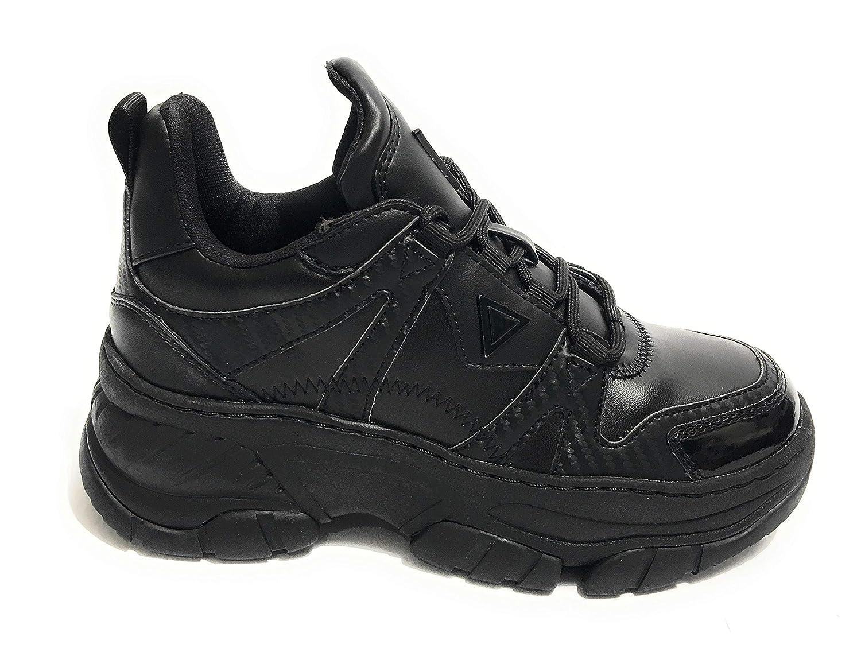 FL5BL2ELE12 schwarz Guess GUESS FOOTWEAR MAIN Turnschuhe damen