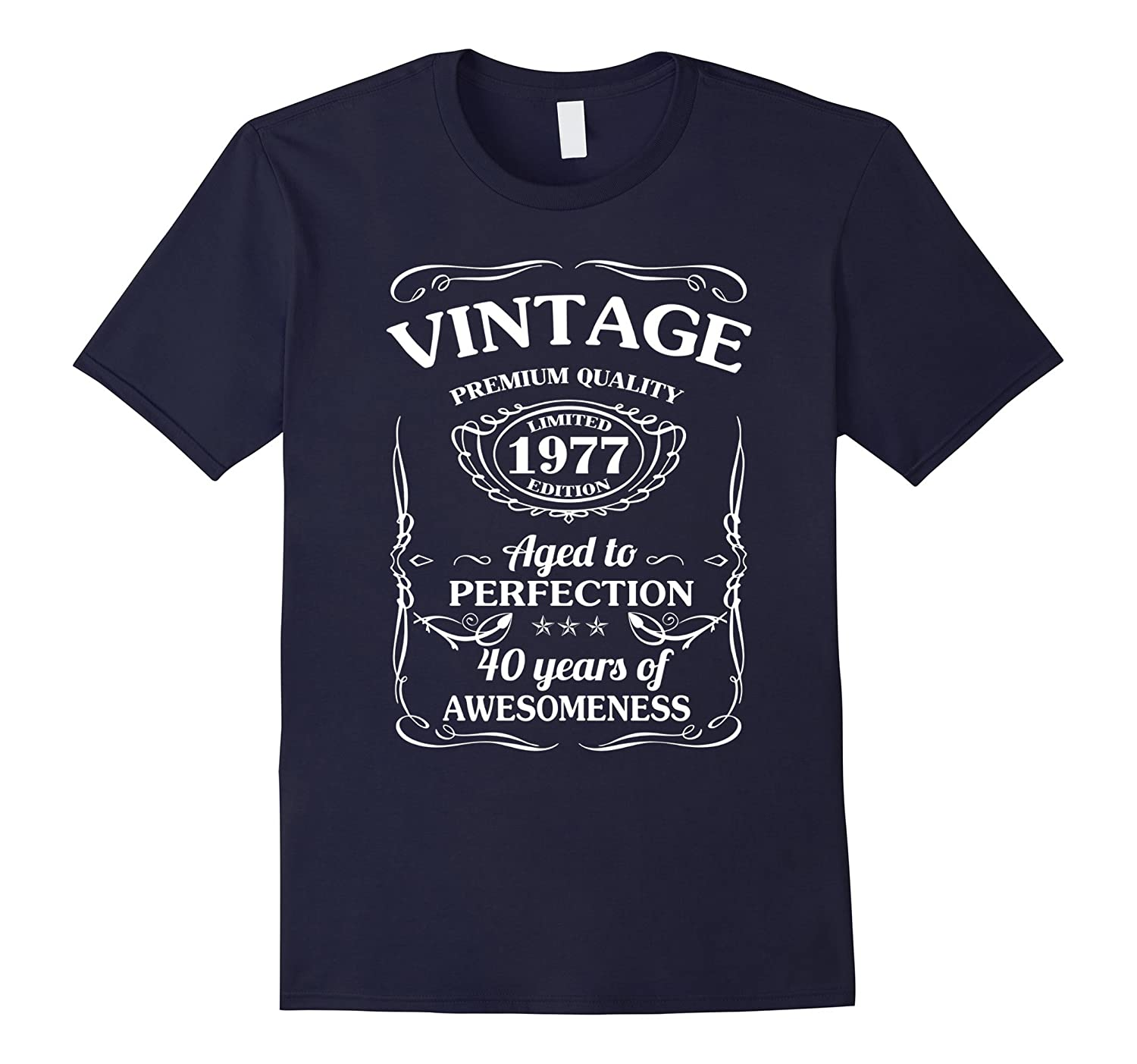 40 year old birthday gifts Vintage 1977 T-shirt-Vaci