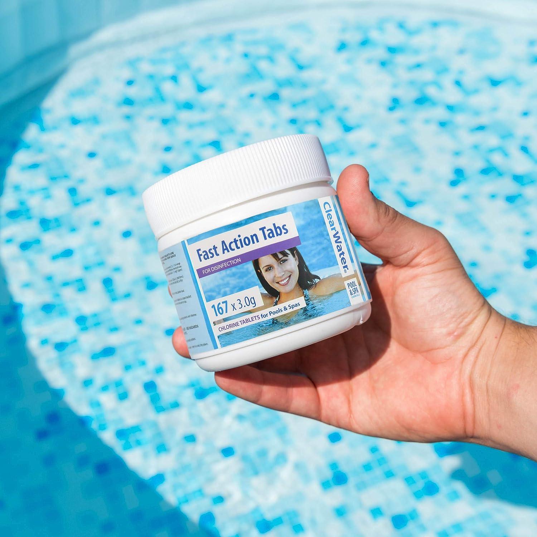 Clearwater Qik linguette Spa e Piscina Trattamento