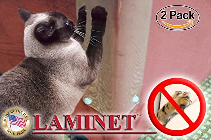 LAMINET The Original Deluxe Cat Scratch Shields   Protect Your Furniture  With Our Deluxe Heavy
