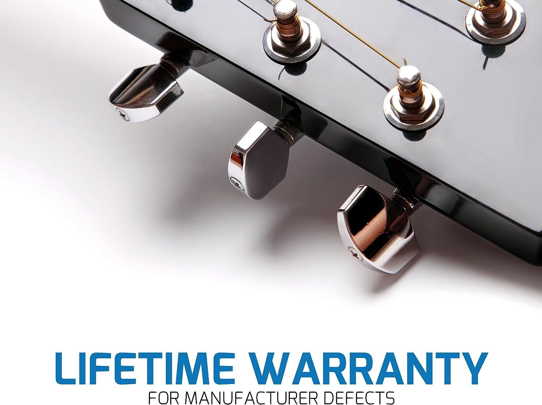 Ceja de la guitarra de estuche de lujo para las guitarras, ukelele ...
