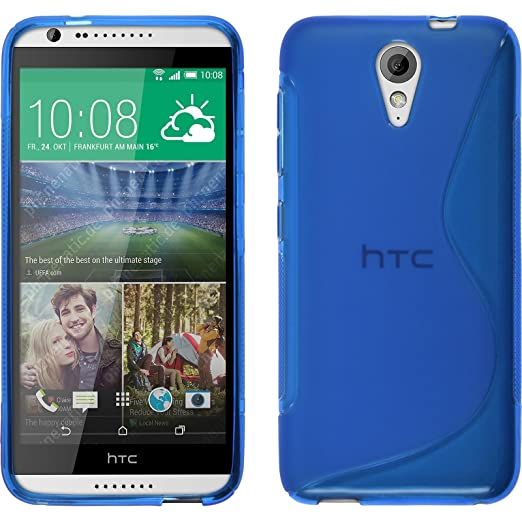32 opinioni per PhoneNatic Custodia HTC Desire 620 Cover blu S-Style Desire 620 in silicone +