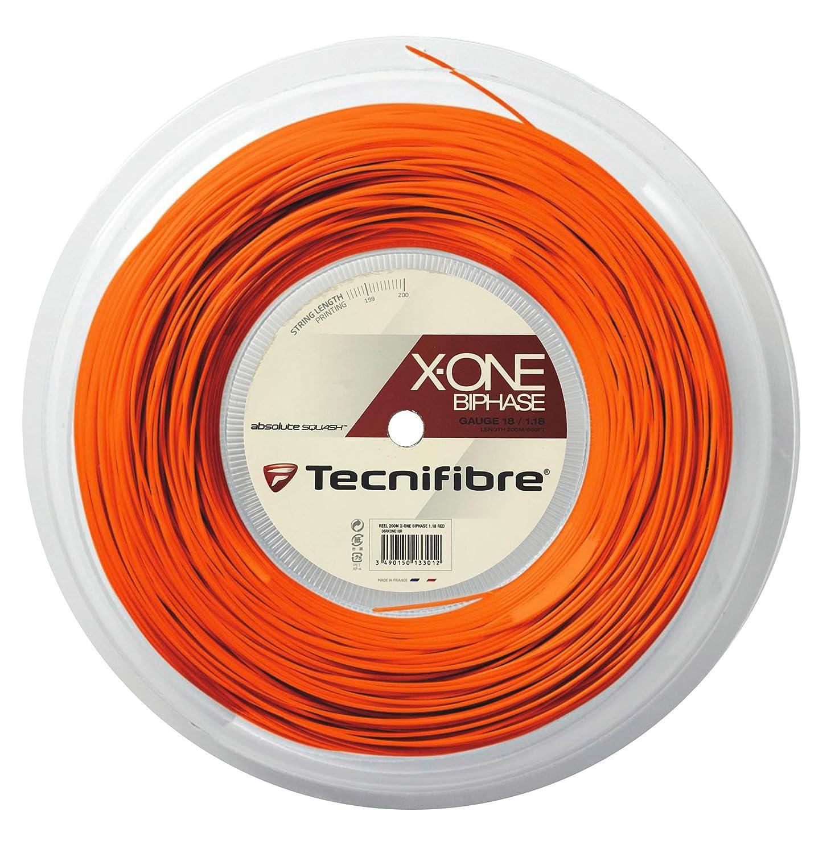 Tecnifibre X-One Biphase String 18ゲージ オレンジリール B07NKP6SN5