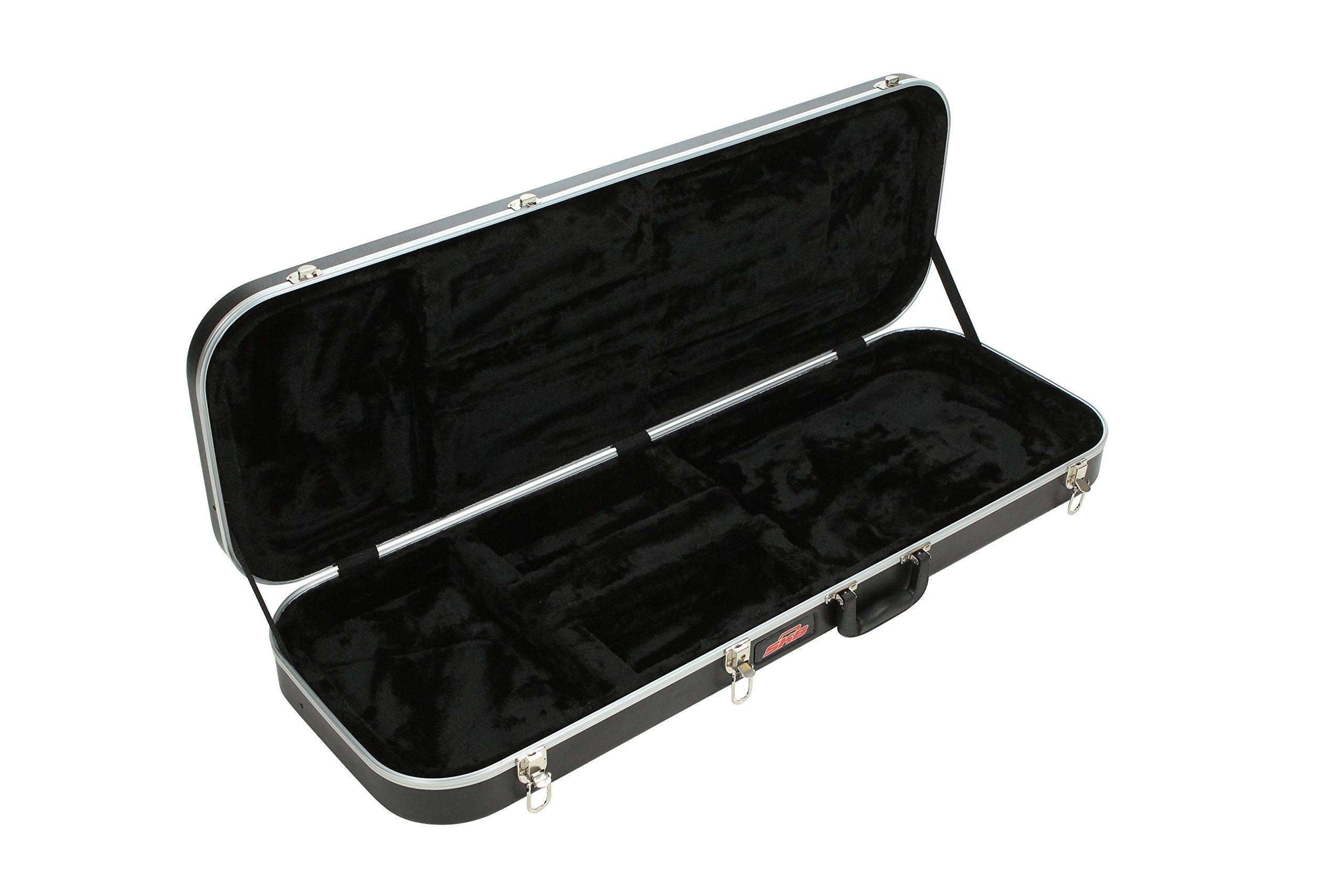 SKB Electric Guitar Rectangular Hardshell, Standard latches, Handle by SKB