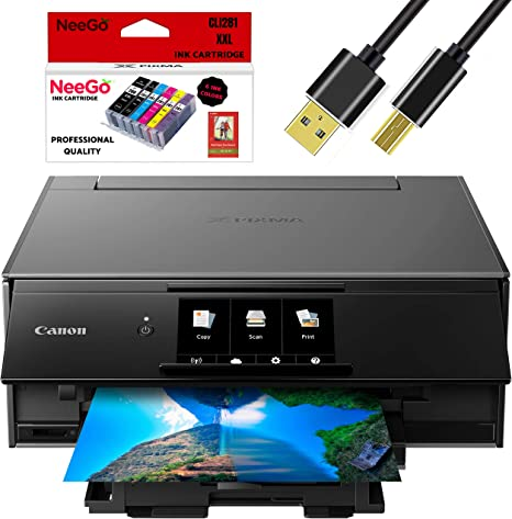 Amazon.com: Canon Wireless Pixma TS9120 - Impresora todo en ...