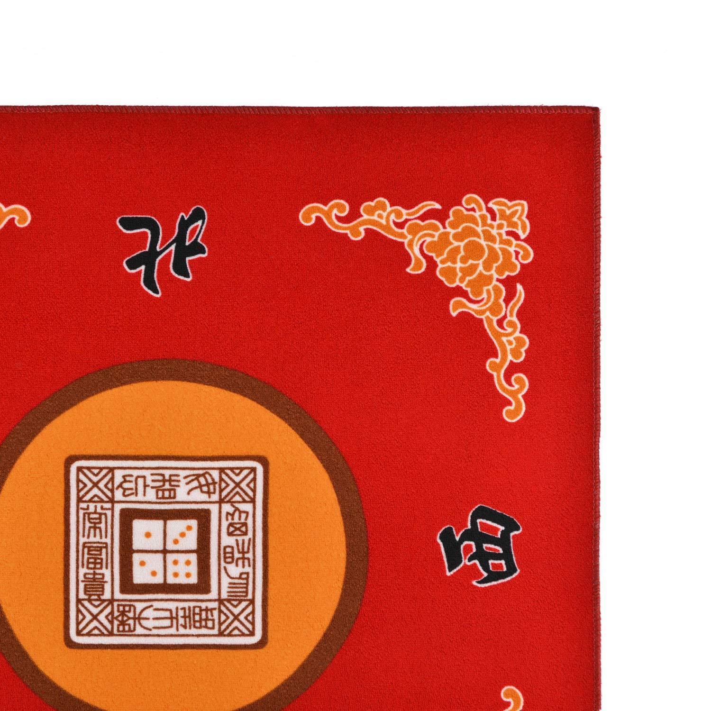 80cm x 80cm Sanvo Universal Mahjong//Paigow//Poker//Dominos//Game Table Cover,Slip Resistant Mat 31.5 x 31.5 Green