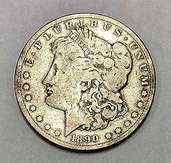 1890 CC Morgan Dollar AU $1 About Uncirculated