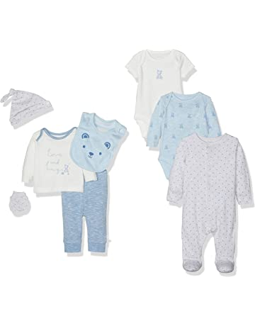 91e229089134 Mothercare Baby Boys My First Eight-Piece Set Clothing Set