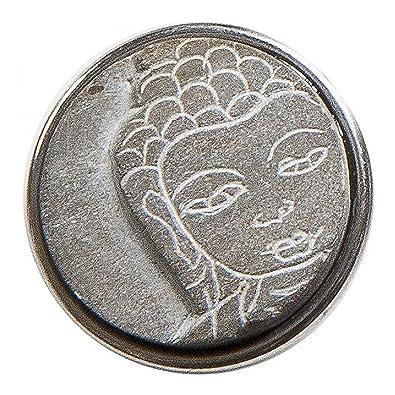 Noosa morceau Bouddha en pierre grise  Amazon.fr  Bijoux b4f644b43f0