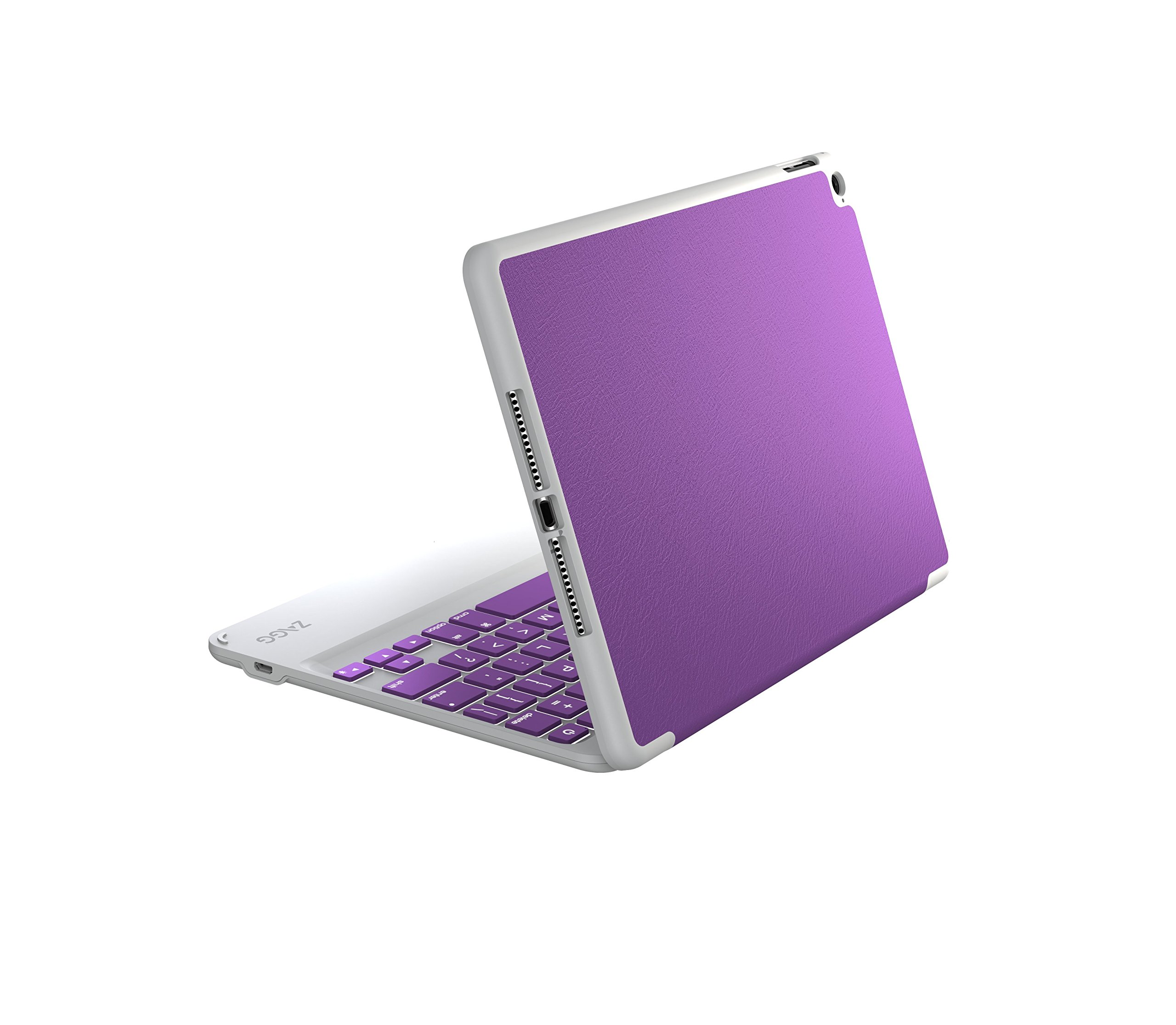 ZAGG Folio Case, Hinged with Backlit Bluetooth Keyboard for iPad Air 2 - Orchid