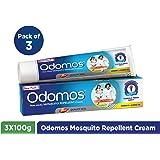 Odomos Mosquito Repellent Cream (Pack of 3)