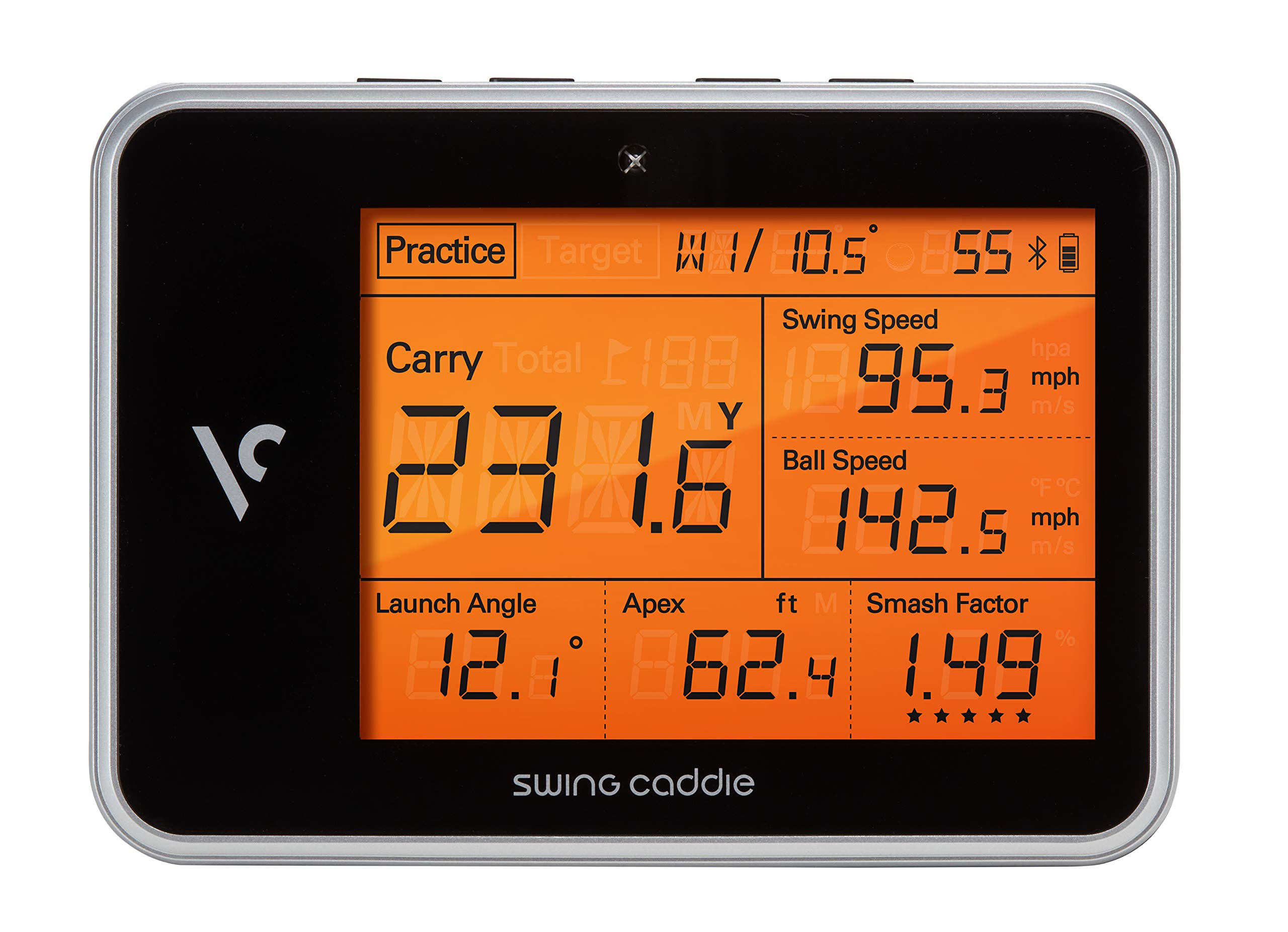 Voice Caddie Golf Swing Caddie SC300 Portable Launch Monitor