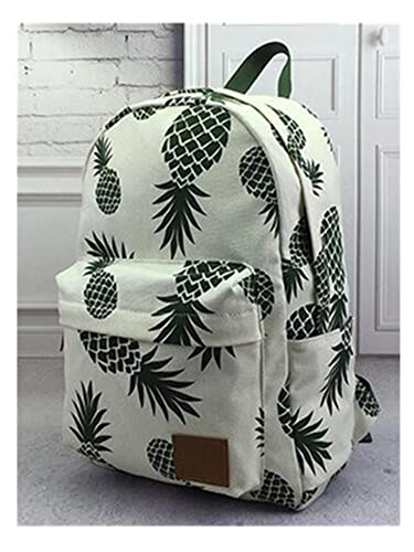 bahu New Designed Backpack Pineapple Printing School Bags For Teenager Girls Casual Bookbags Travel Bag Laptop