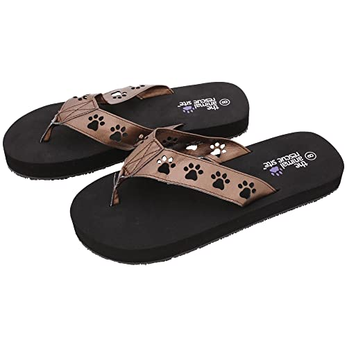 adef23c327ccd1 Cut Out Paw Flip Flops (11