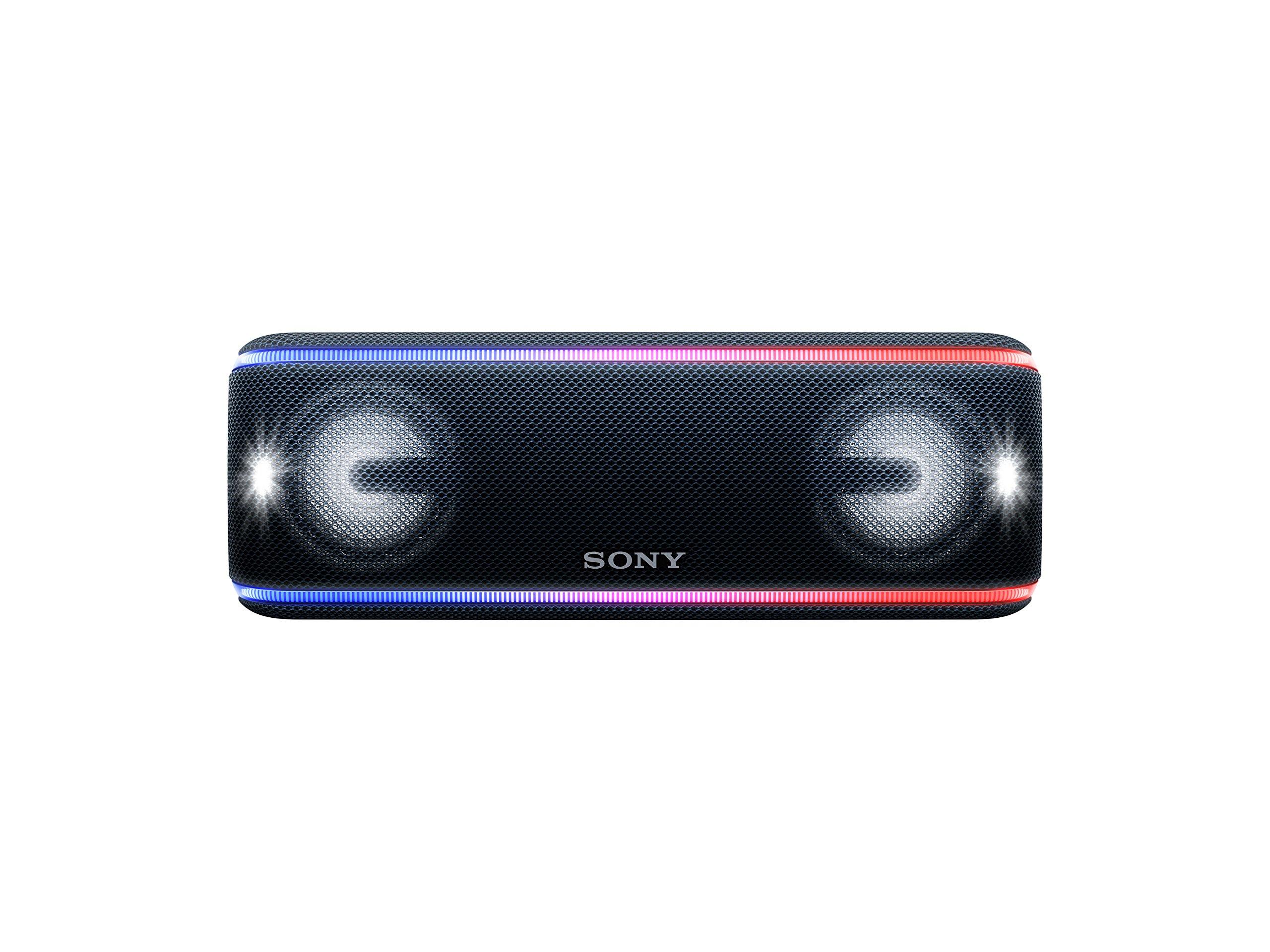 Sony SRSXB41B - Altavoz portátil Bluetooth (Extra Bass, Modo Sonido Live, Party Booster