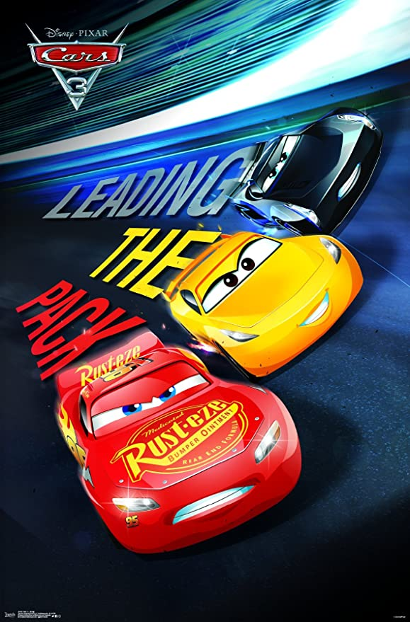 Amazon Com Trends International Disney Cars 3 Group Wall Poster