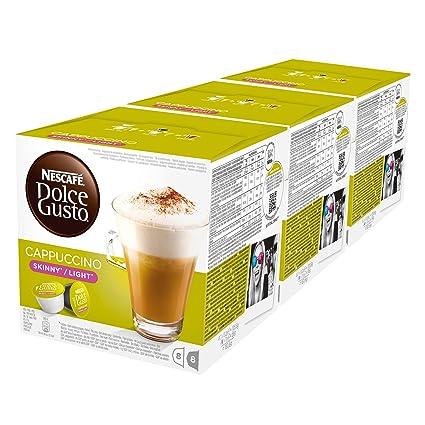 Nescafé Dolce Gusto Cappuccino, Pack de 3, 3 x 16 cápsulas ...