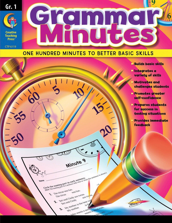 Grammar Minutes, Gr. 1 PDF