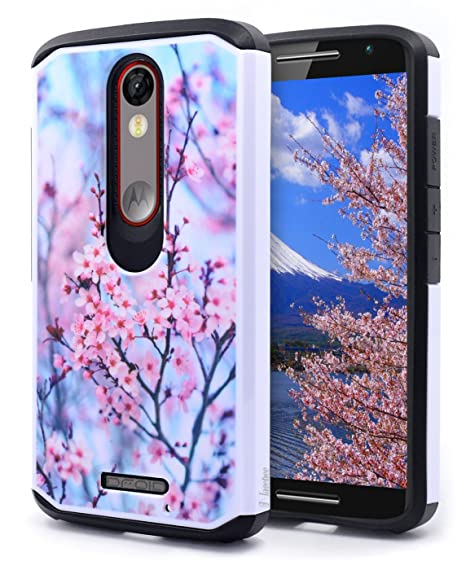 NageBee Hybrid Case Compatible with Droid Turbo 2 XT1585 / Moto X Force (2015)