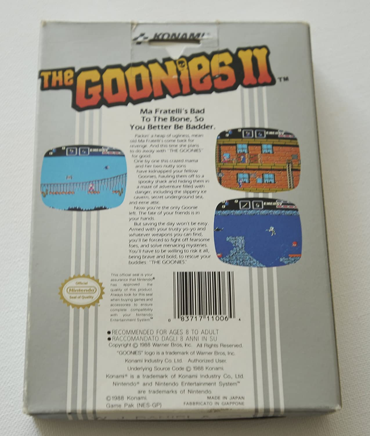 The Goonies 2 - NES - PAL: Amazon co uk: PC & Video Games