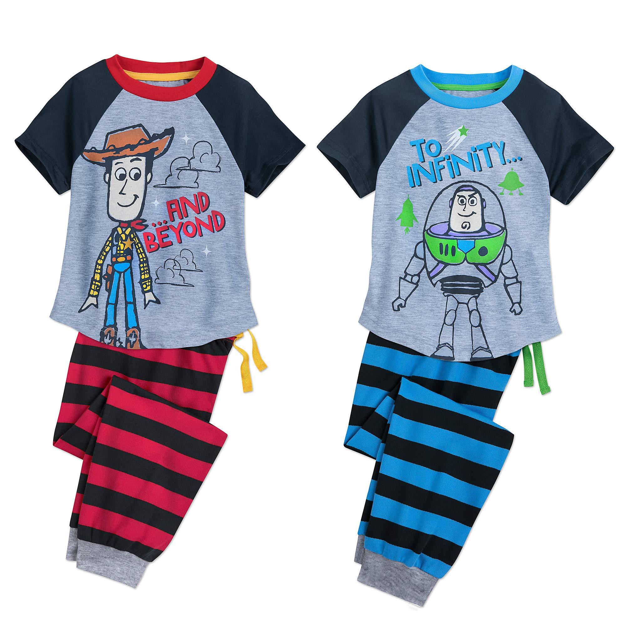 Disney Toy Story Best Friends PJ Sets for Kids - 2-Pack Size 3 Multi449030320182