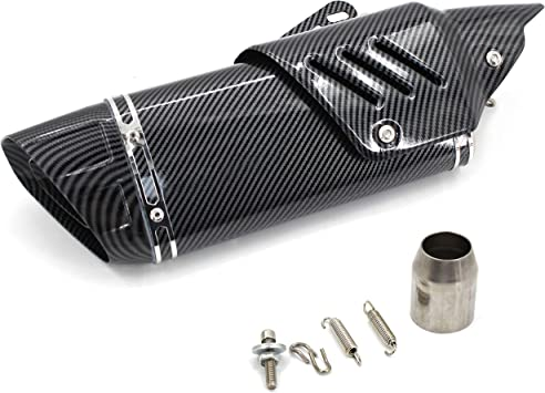 mgod motorcycle muffler exhaust pipe suitable for motorcycles with diameters of 38 51mm soil vehicles street car scooters atv four wheelers