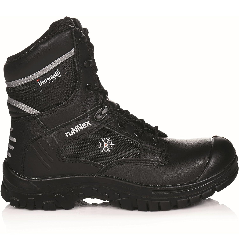 5330 ruNNex Winter Sicherheitsstiefel S3 WinterStar mit Thinsulate-Futter Gr/ö/ße 36 schwarz