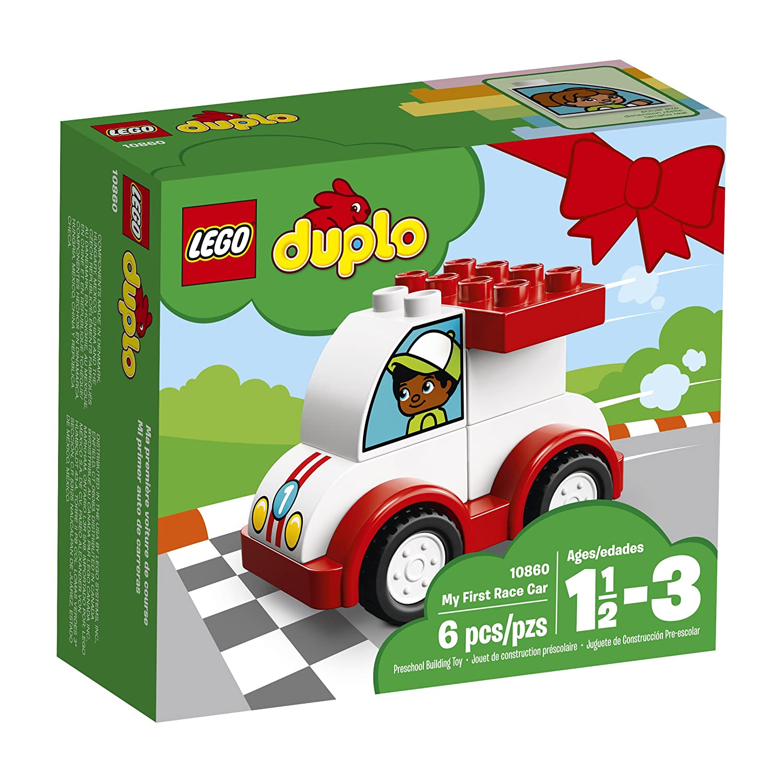 6212846 6 Piece LEGO DUPLO My First Race Car 10860 Building Blocks
