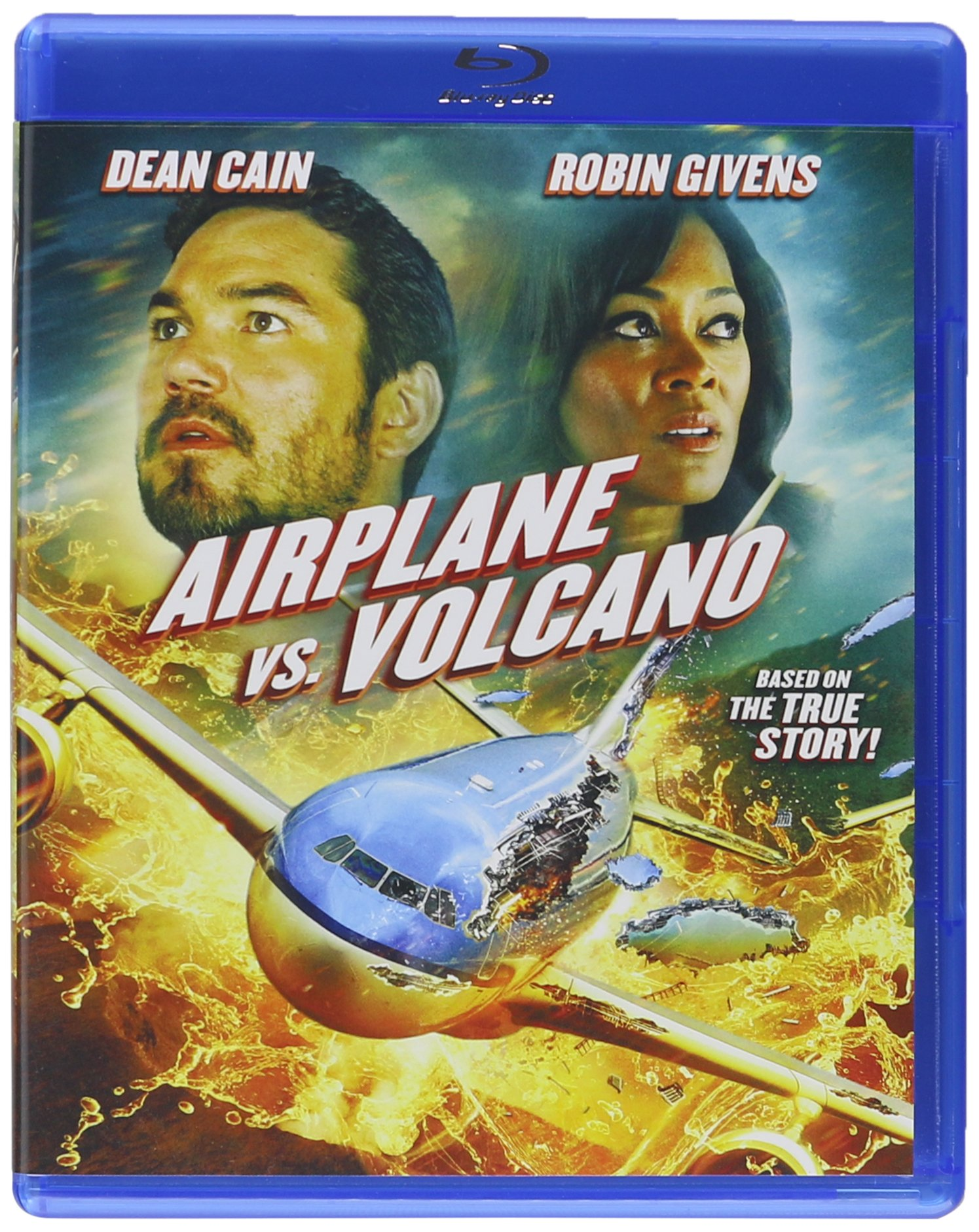 Blu-ray : Airplane Vs Volcano (Blu-ray)