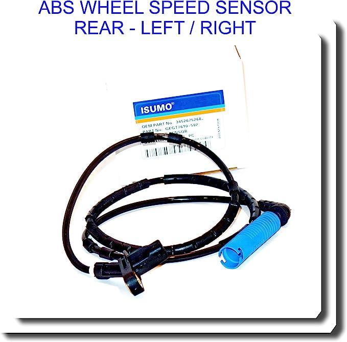 2pcs Front ABS Wheel Speed Sensor For BMW 730i 740i 750i Right//Left 34526756373