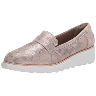 Amazon.com | Clarks Women's Sharon Gracie Penny Loafer | Loafers & Slip-Ons