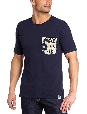 G-star Men s T-Shirt - Blue - Bleu (Mn Kyoto Bl Htr) - Small (Brand ... ce6b46cc88c