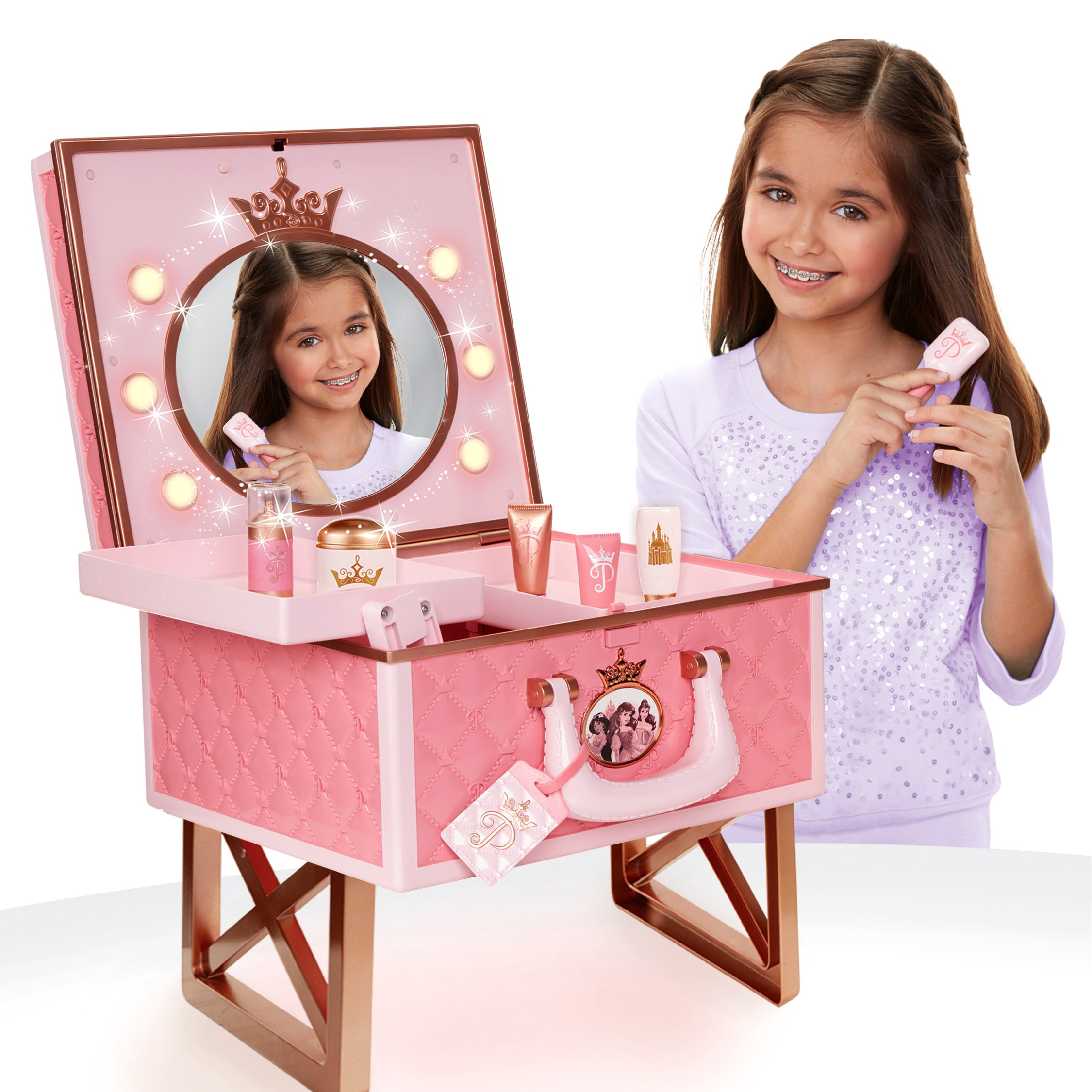 Disney Princess Style Collection Travel Vanity Playset by Disney